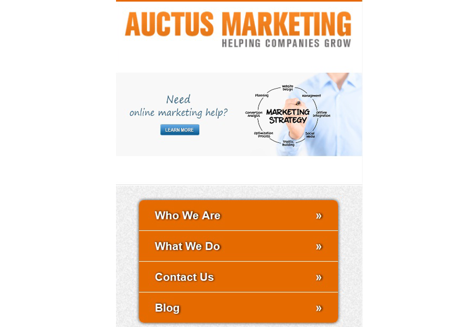 auctus marketing local seo mobile